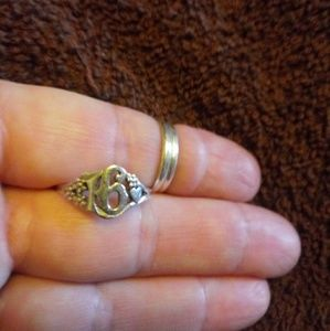Retired James Avery Sweet 16 ring